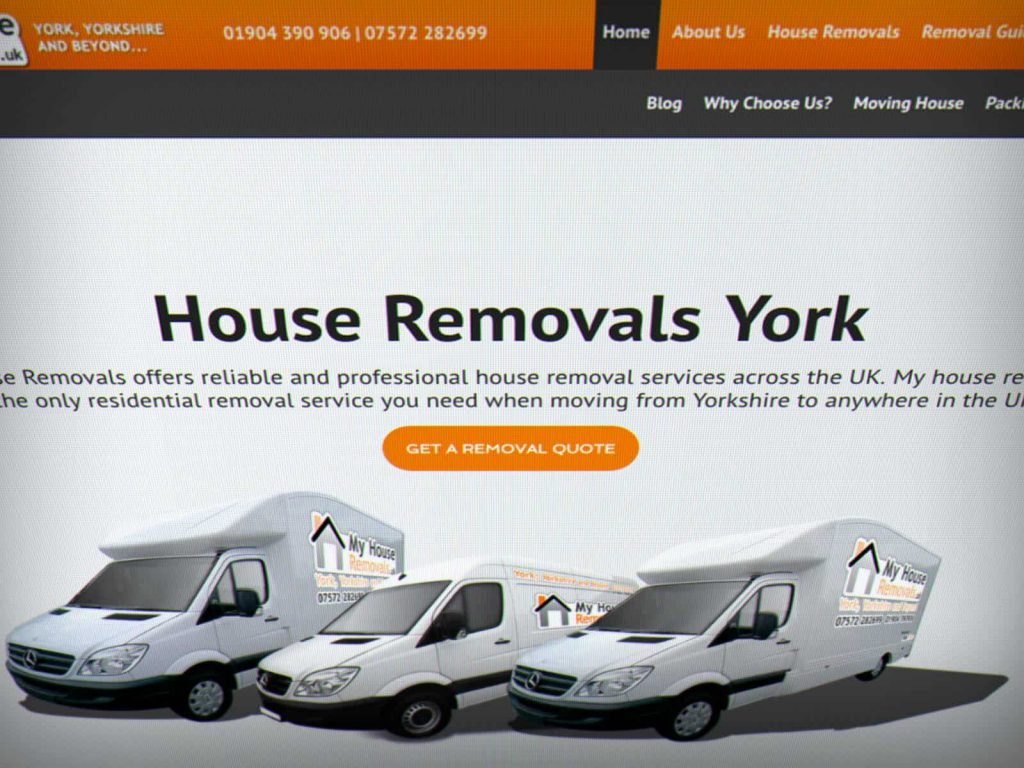 my house removals website